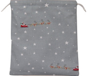 Sophie Allport Starry Night Fabric. Drawstring Waterproof Lined Wash Bag, Cosmetic Bag