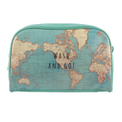 Sass & Belle Toiletry Bag blue light blue