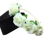 Floral Crown Circlet Tiara Handmade Headband :A2