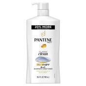 Pantene Pro-V Classic Clean 2-in-1 Shampoo and Conditioner, 30.4 Fluid Ounce
