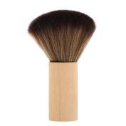 Anself Barber Cleaning Hairbrush Hair Sweep Brush Hairdressing Neck Face Duster Brush Soft Hair Styling Tool