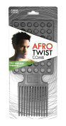 Afro Twist Comb Grey twist your hair in minutes