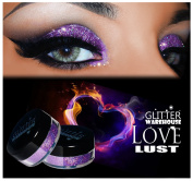 GlitterWarehouse Holographic Glitter for Eyeshadow / Eye Shadow Shimmer Makeup Lavender - Love Lust