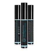 Premium Organic Mascara, Black- 100% Natural - Enriched with Chamomile and Sunflower Oil - Paraben Free, Gluten Free, Vegan - Strengthens and Moisturises - Perfect for Sensitive Eyes - Made in USA