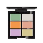 Shouhengda 6 Colour Pressed Powder Makeup Contouring Concealer Palette Nude Face Contour Cosmetic A01