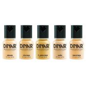 Dinair Airbrush Makeup Foundation | 5pc Paramedical Set | Fair Shades | Covers Scars, Acne, Tattoos, Under Eye Circles, Sun Spots, Vitiligo