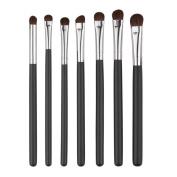 NOMENI 7PCS Cosmetic Makeup Brush Makeup Brush Eyeshadow Brush