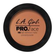 L.A. Girl Pro Face HD Matte Pressed Powder, Chestnut, 5ml