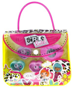 Girls Rule! Lip Gloss with Mirror, Tote Bag, 100ml