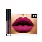 LUNIWEI Waterproof Matte Liquid Lipstick Long Lasting Lip Gloss Lipstick