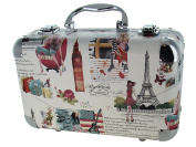 BR Carry All Trunk Train Case Make Up Set Artist Design