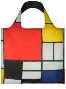 LOQI Bag Mondrian / Composition with Red Yellow Blue and Black