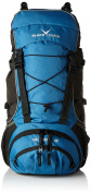 Black Adult Backpack Crevice Columbia Blue 60 x 35 x 22 CM 45 Litre BCR3202