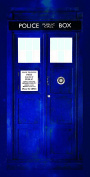 Doctor Who Tardis Cotton Beach Bath Towel 70 x 140cm