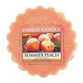 Yankee candle Summer Peach Wax Tart Melt, Orange