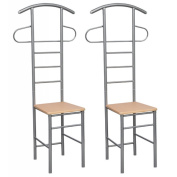 Anself 2 Set of Chair Valet Stand Gentleman's Valet