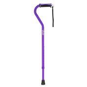 Walking Cane by Vive - Best Adjustable Cane for Men & Women - Lightweight & Sturdy Offset Walking Stick - Mobility Aid for Elderly, Seniors & Handicap - Lifetime Guarantee