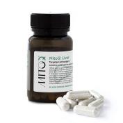 MitoQ Liver Veggie Capsules - Premium Liver Detoxifier and Regenerator with High Absorption Milk Thistle Extract 60 Capsules