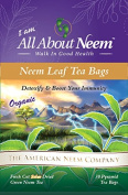 Green Neem Leaf Tea Bag (60 ct) - Organic, America's Choice - Packaged and Made in America