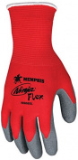 Memphis N9680 Red Ninja Flex Gloves, 15 Gauge, Size Medium,