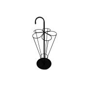 Black Iron Umbrella Stand in Traditional design