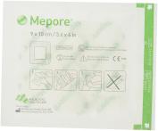 Mepore 670900 Dressing Adhesive, Island, Non Woven Fabric, Semi-Permeable Backing, Sterile, 9 cm x 10 cm