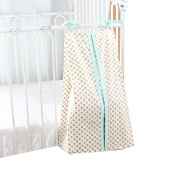 Metallic Gold Dots Nappy Stacker (Mint) - Thanksgiving Sale - .