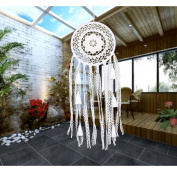 WCHUANG Feather Hanging Decor, Dream Catcher Ornament for Wall and Car, Christmas Gift