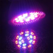 Tuscom 18 LED E27 Grow Light Lamp Veg Flower Indoor Hydroponic Plant Full Spectrum 18W