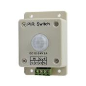 Tuscom DC 12V-24V 8A Automatic Infrared PIR Motion Sensor Switch For lighting light New