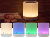 Rockville PBL30 LED Night Light Touch Lamp Bluetooth Speaker w/Aux+SD