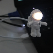 Tuscom Creative Astronaut USB LED Light Lamp Laptop Desktop Computer Accessory