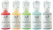 Nuvo Jewel Drops - Translucent Set - Strawberry Coulis, Limoncello, Key Lime, Sea Breeze & Grey Mist