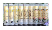 ZZYBIA Assorted Clear Lip Balm Label Sticker for Lip Balm Container Lip Balm Labels Paper Stickers 60pcs