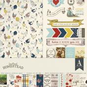 Authentique Paper HMS016 Homestead Collection Kit