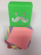 Package of 3, Colourful Small Origami Paper 350 Sheets 64mm 6 Colours Cute Cover Design