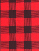 Red Buffalo Plaid Lumberjack Tissue Wrapping Paper-20 Sheets