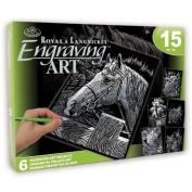 Royal Brush Pets Silver Engraving Art Set