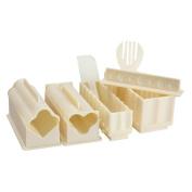 11pcs Sushi Making Kit , DIY Sushi Maker Rice Mould, Sushi Rolls Making Mould, Sushi Maker Machine Kit, Kitchen Accessories Cooking Tool Set