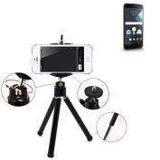 Smartphone Tripod / mobile stand / tripod for Blackberry DTEK60, aluminium mobile phone holder - K-S-Trade