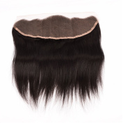 Ms Taj Lace Frontal straight 7A Unprocessed Human Hair weave with bleached knots Natual Hair Line