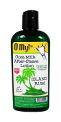 O My! Island Rum Goat Milk After-Shave Lotion - 120ml