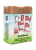 O My! Toasty Almond Goat Milk Mini O! Soap - 90ml