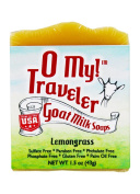 O My! Lemongrass Goat Milk Traveller Soaps