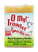O My! Black Raspberry Vanilla Goat Milk Traveller Soaps
