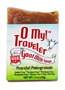 O My! Peaceful Pomegranate Goat Milk Traveller Soaps