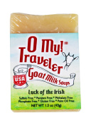 O My! Luck of the Irish Goat Milk Traveller Soaps