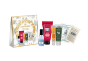 Holiday Delights Gift Set, with must have shower gel, hand cream, pillow mist, lip balm, with fresh scents, made in France