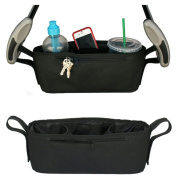 Baby Stroller Cup Bag Organiser Baby Carriage Pram Buggy Cart Bottle Bags Stroller Accessories Baby Car Bag