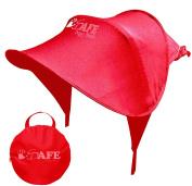iSafe Sun Shade Maker - Red For Hauck Shopper Comfortfold Stroller